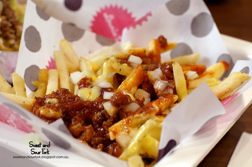 Chilli Cheese Fries ($8.95)