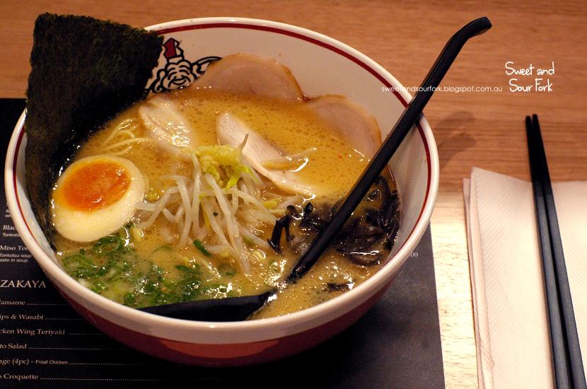 Miso Tonkotsu ($17)
