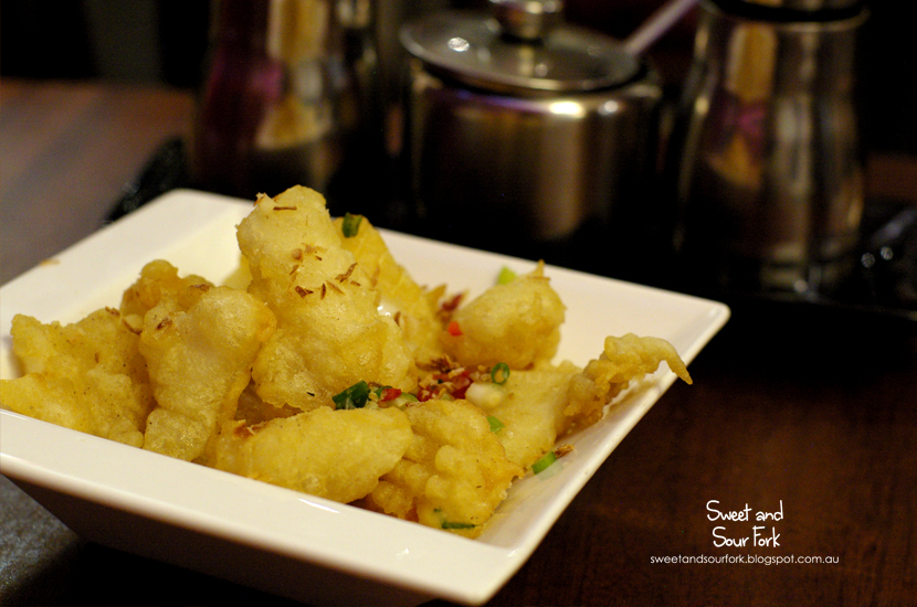 Salt & Pepper Squid ($6.8)