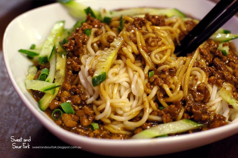 Zha Jiang Mian ($9.8)