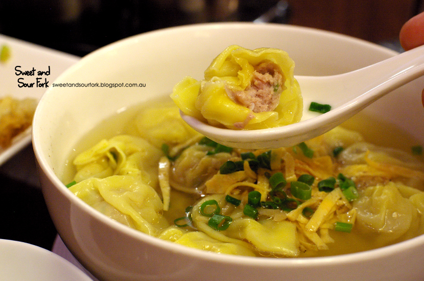 Pork & Prawn Wonton Soup ($9.8, 15pcs)