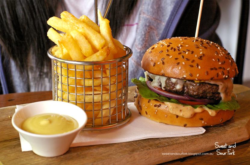 Wagyu Burger ($20)