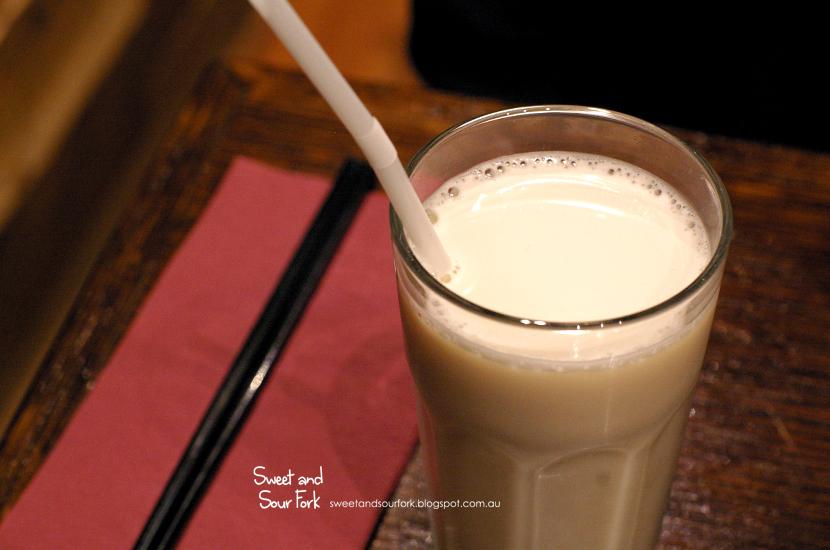 Soy Milk ($2.8)