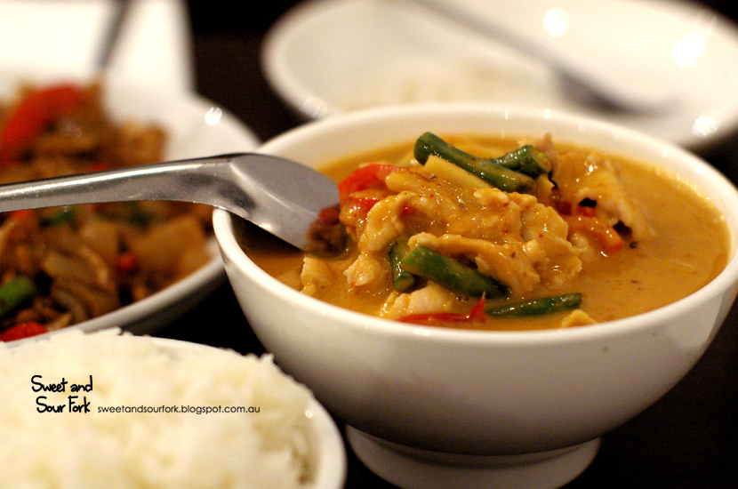 Red Chicken Curry ($14.9)