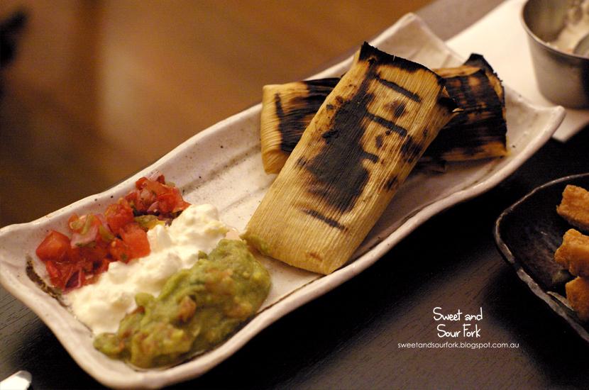 Tamales de Pollo ($18, 3pcs)