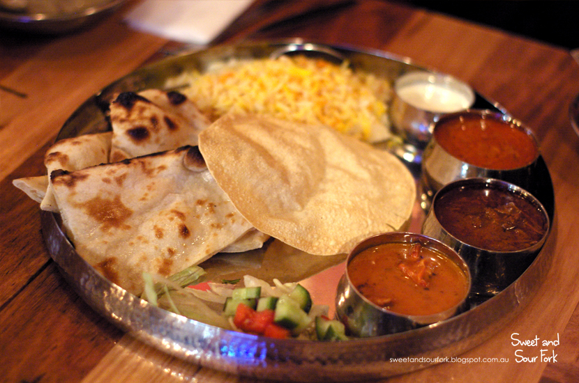 Special Thali ($13)
