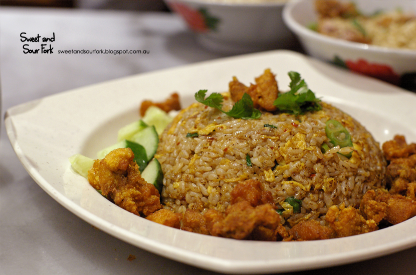 Thai Style Fried Rice ($8.5)