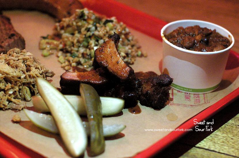 Kansas City Style Pork Ribs ($8.5/100g)/Carolina Styled Chopped Hog ($7.5/100g)/Dill Pickle ($2ea)