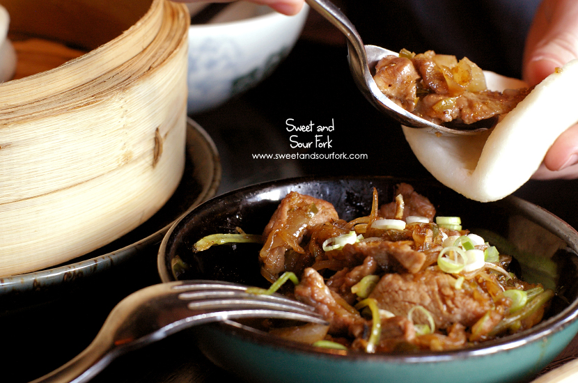 Stir Fried Cumin Lamb with Bread Pockets ($38, 6pcs/$22, 4pcs)