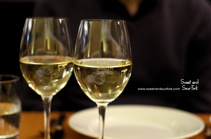 2012 The Barracks 'Madeleine' Riesling/2013 The Heather Sauvignon Blanc