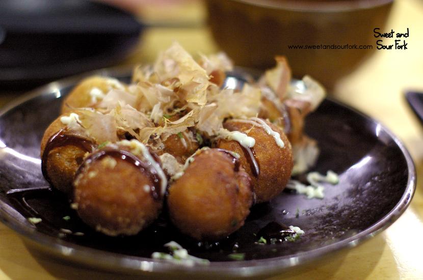 Takoyaki ($8, 8pcs)