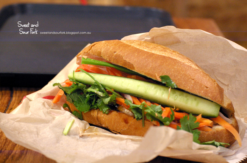 Crispy Roast Pork Belly Banh Mi ($7.5)