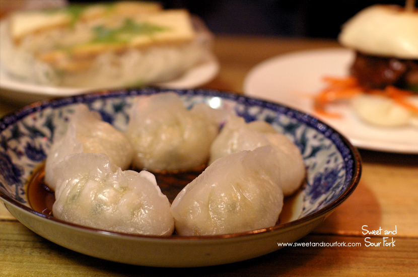 Prawn 'n' Chives Dumplings ($8, 5pcs)