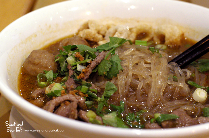 Boat Noodles ($10.9, beef)