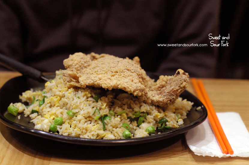 Signature Fried Pork Chop Fried Rice ($11.9)