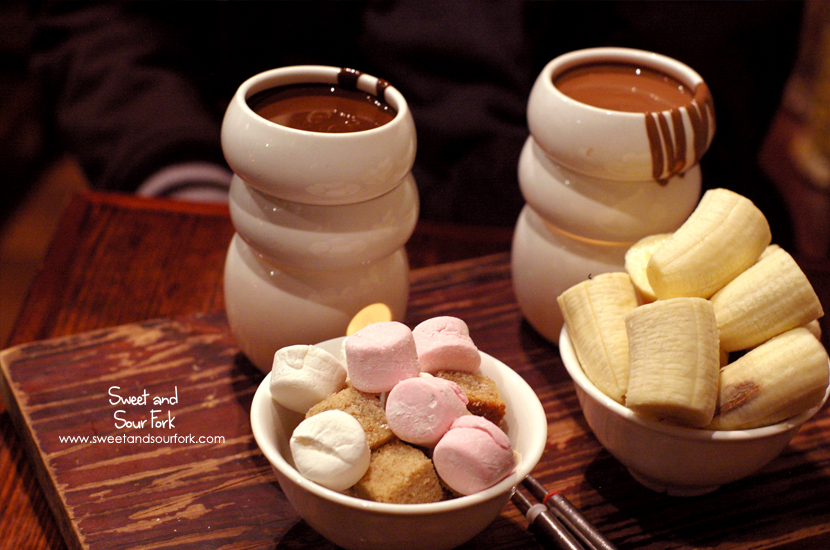 Chocolate Fondue for Two ($19)