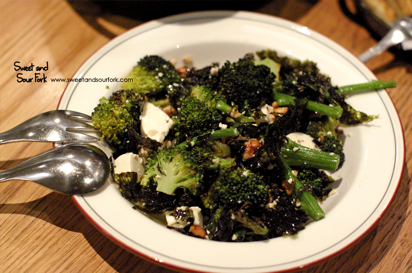 Salad of Broccolini, Tofu, Walnut & Toasted Seaweed ($15)