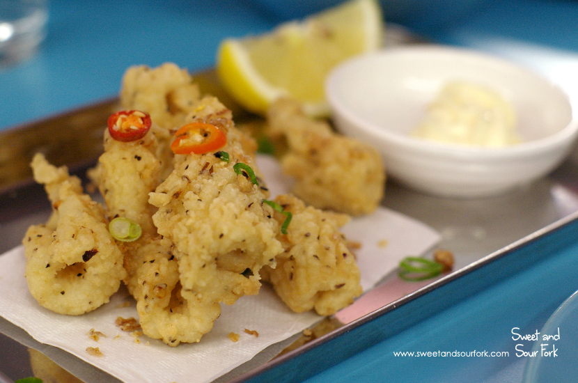Salt and Pepper Squid, Kewpie ($9)