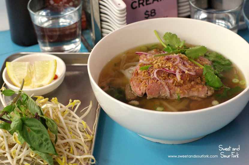 Beef Brisket and Sirloin Pho ($14)