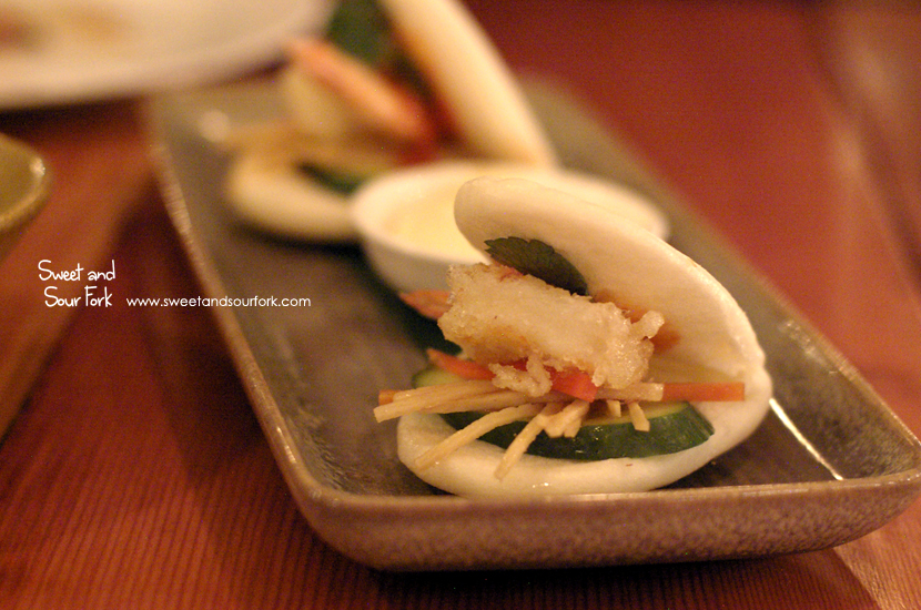 Steamed Open Bao ($16, 2pcs)