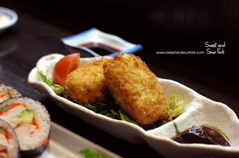 Homemade Japanese Croquettes ($9.5, 2pcs)
