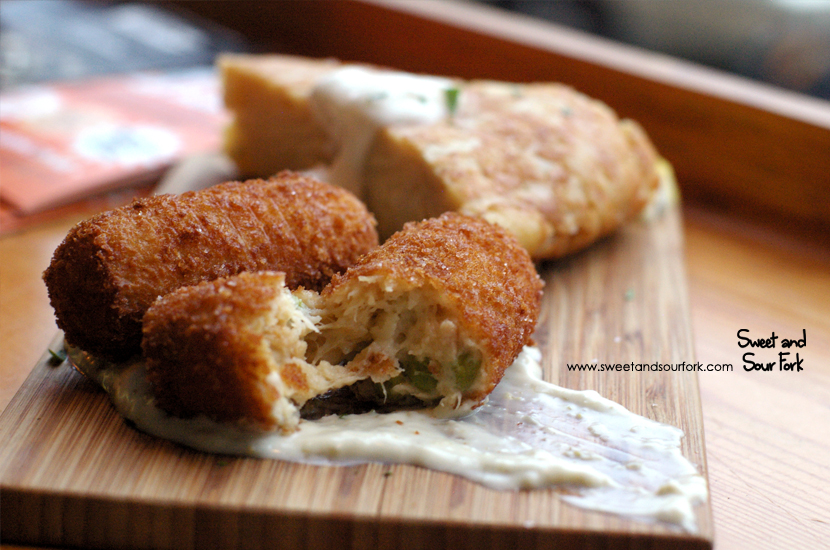 Tuna and Green Pea Croquettas ($5ea)