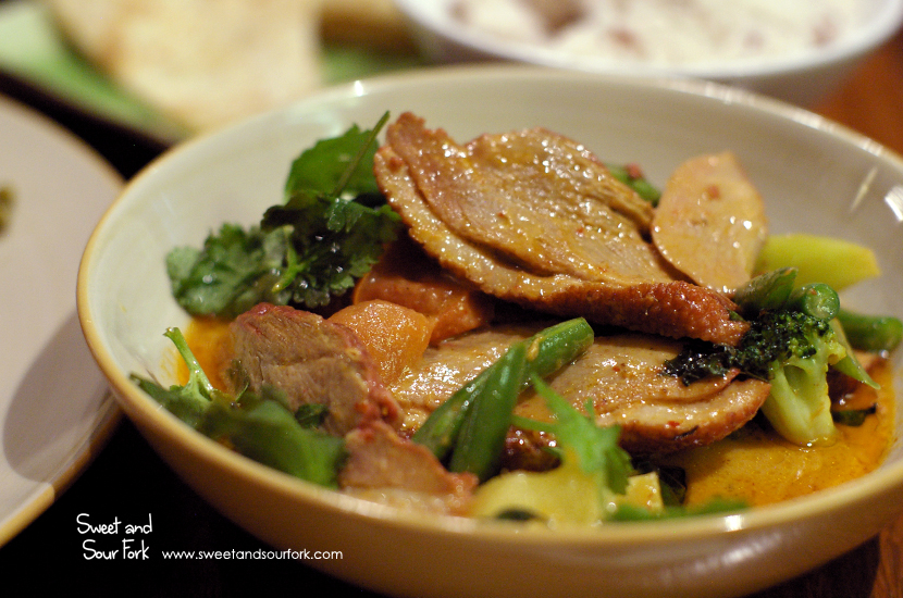 Red Curry with Pot-Roasted Duck ($15.9)