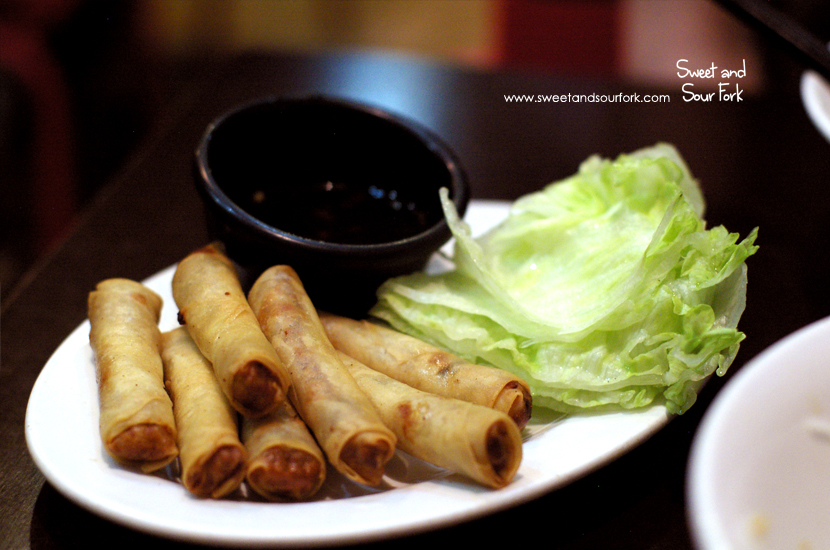 Crispy Vietnamese Spring Rolls (chicken, $7.5, 6pcs)