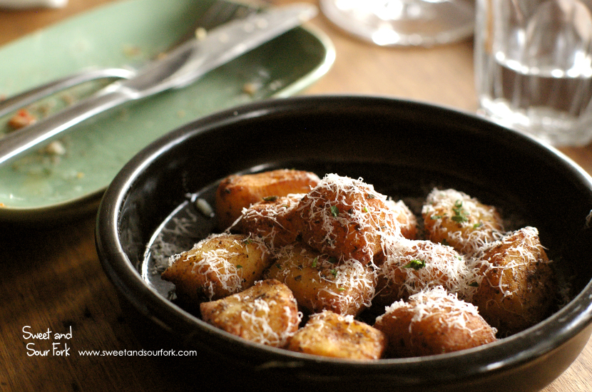 Crispy Gnocchi with Sage Butter and Truffle