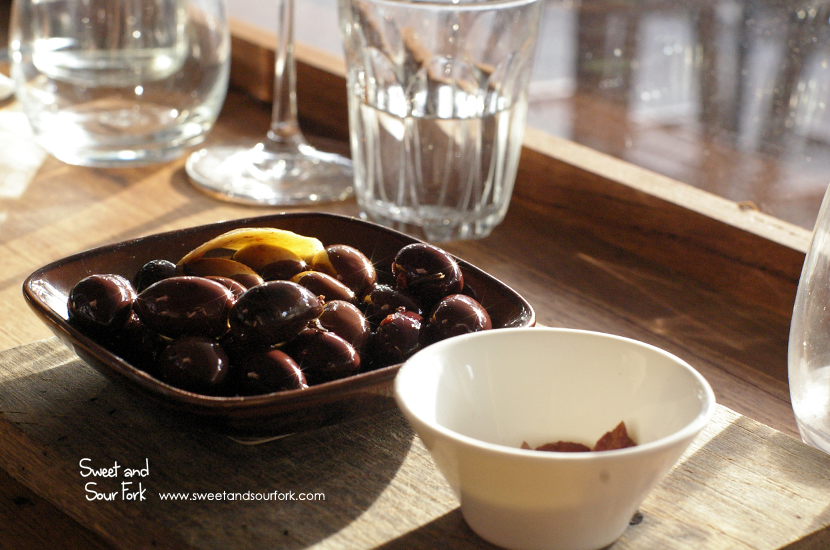 House-Marinated Olives