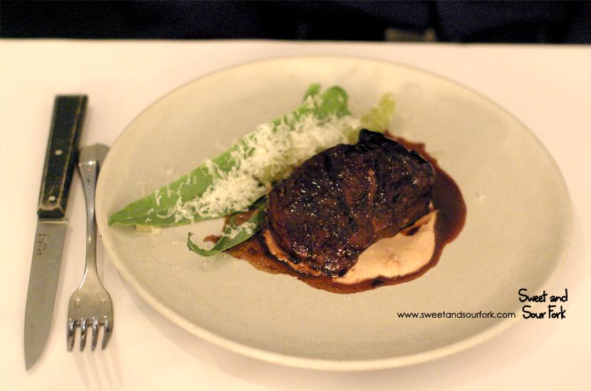 Glazed Veal, Celtuce & Parmesan