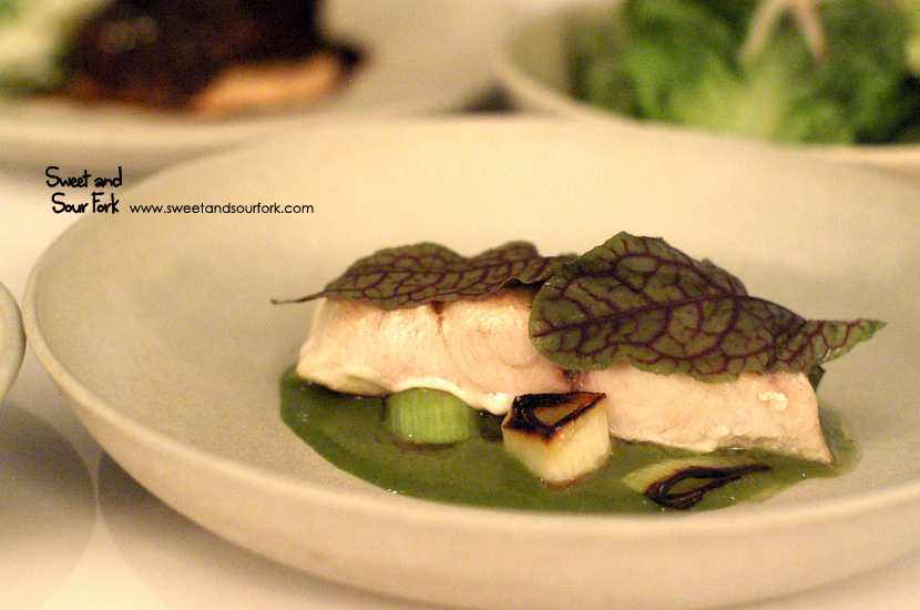 Cobia, Red Sorrel & Bagna Cauda