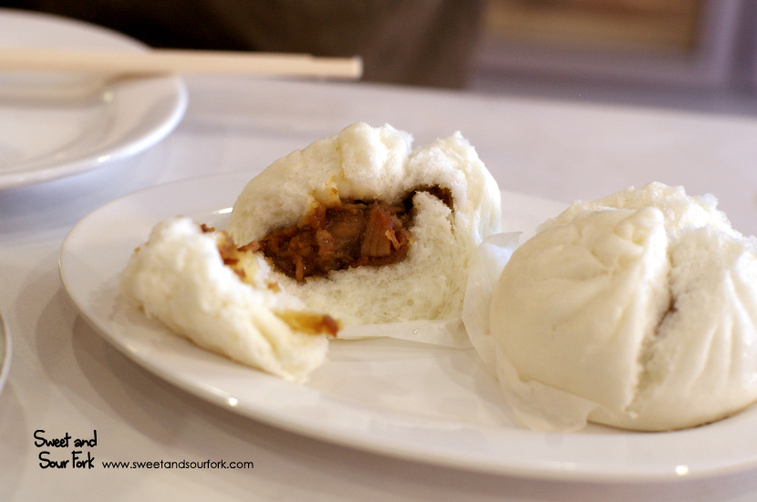 Steamed BBQ Pork Buns ($5, 2pcs)