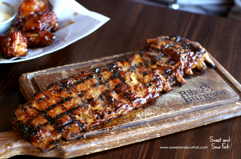 Smoky BBQ Pork Spare Ribs ($28.5, full rack)