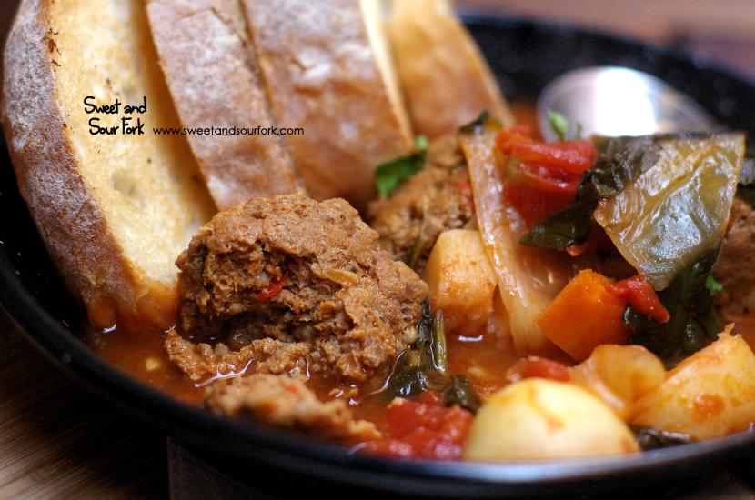 Meatball Soup ($12)