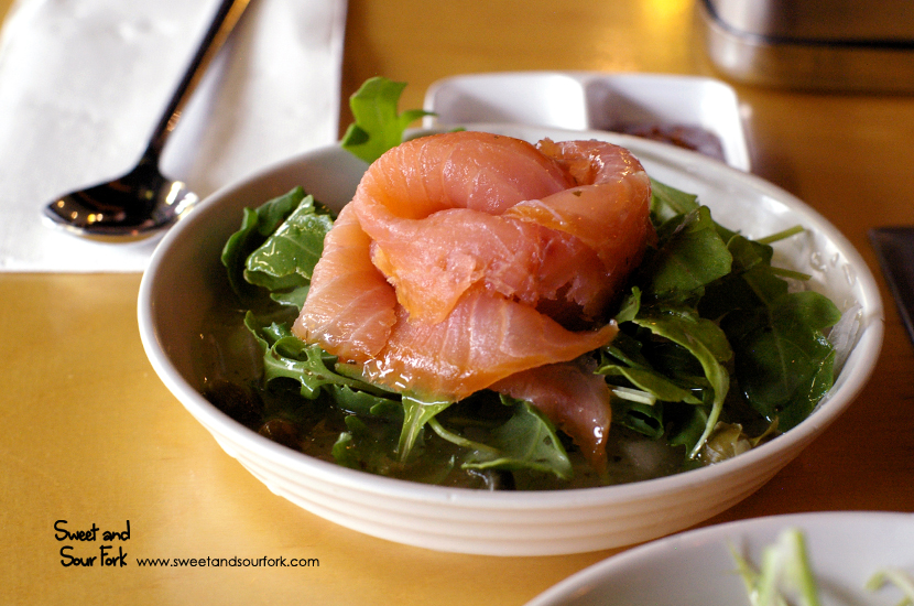 Smoked Salmon and Onion Salad