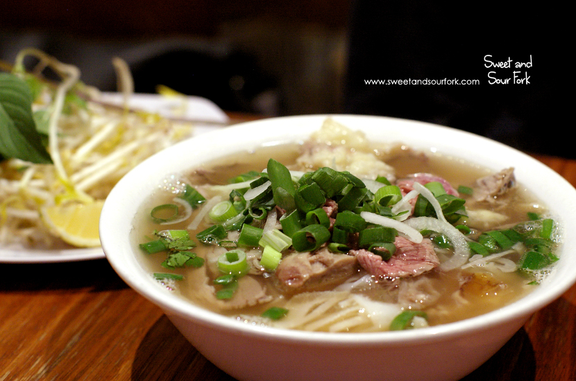 Pho Special Beef ($9, small)