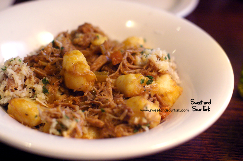 Potato Gnocchi with Braised Duck Ragu ($22.5)