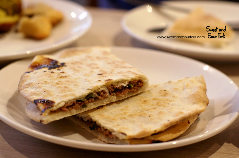 Aleppo Meat Pizza ($4)
