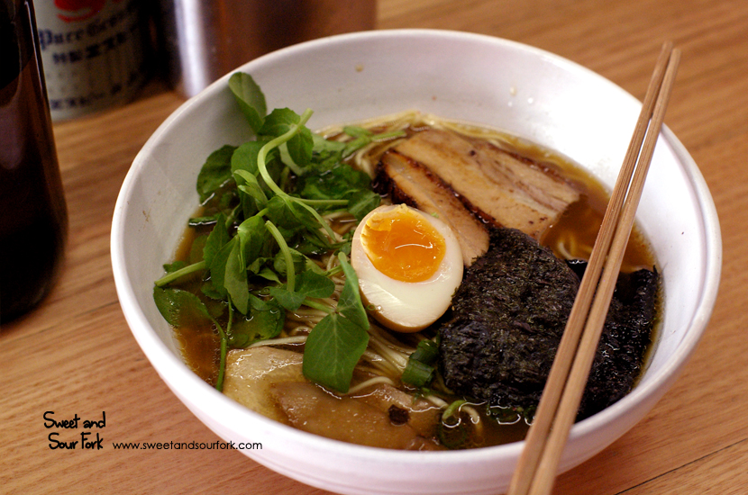 Pork Belly Ramen ($16)