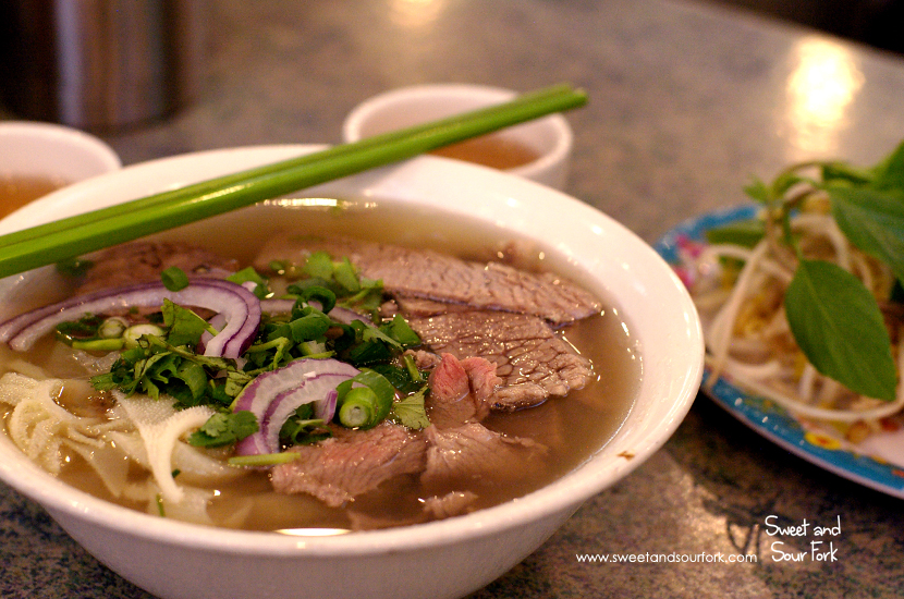 Special Beef Pho ($9, small)