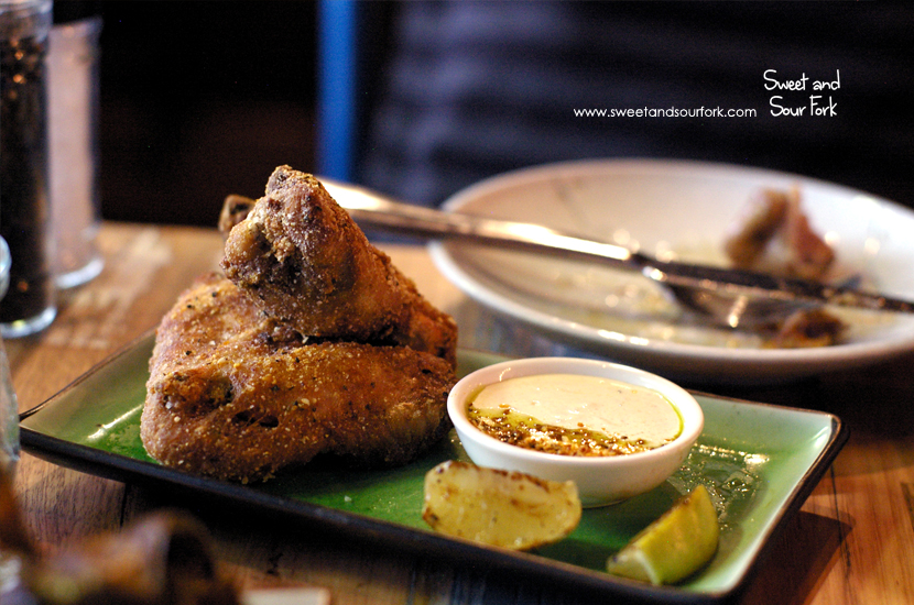 Fried Chicken Wings ($14, 6pcs)