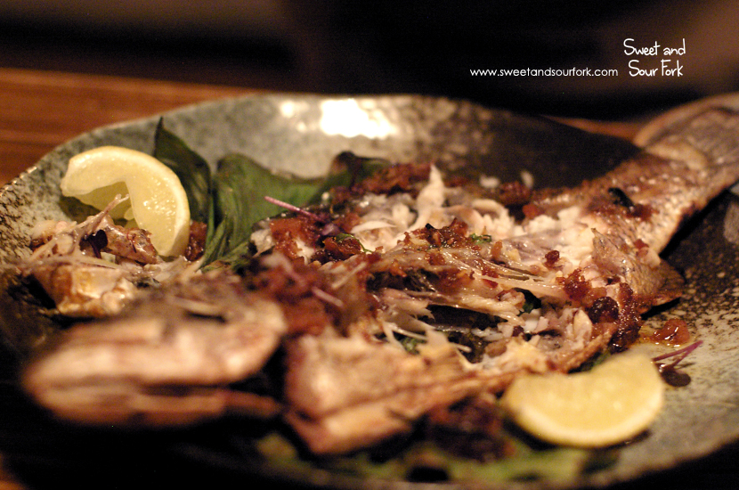 Baby Barramundi Grilled in a Banana Leaf ($MP)