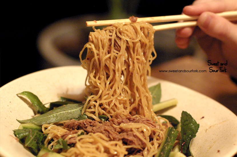 Master Stock Shredded Duck, Egg Noodles ($28)