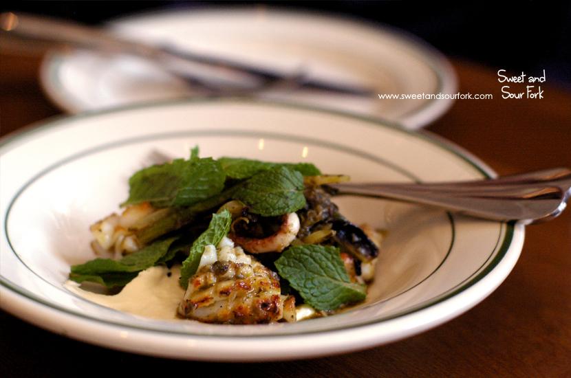 Grilled Calamari ($16)
