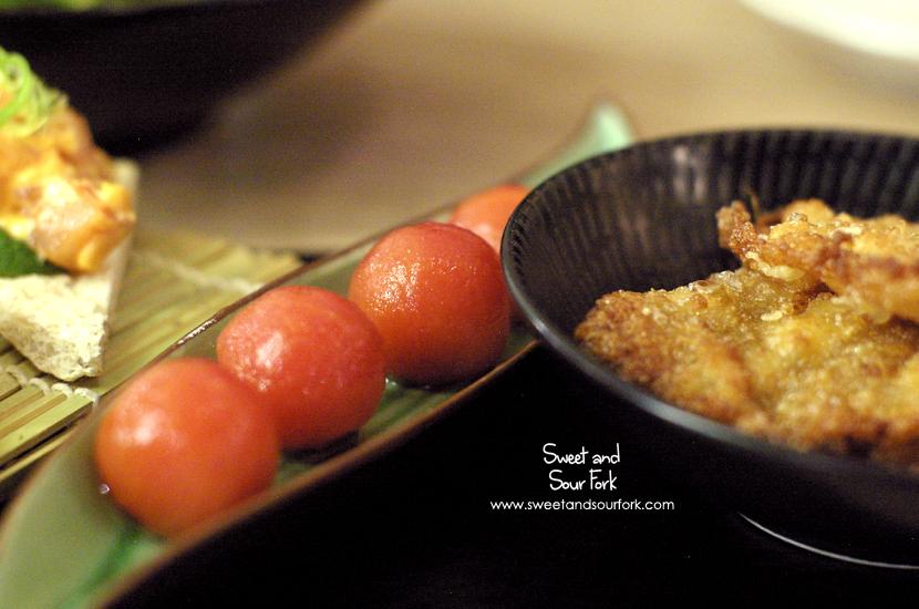 Honey Pickled Cherry Tomato