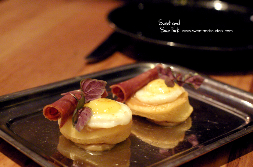 Bastourma and Egg ($10, 2pcs)