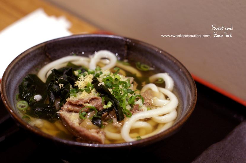 Sukiyaki Beef Noodle Soup ($7.8)