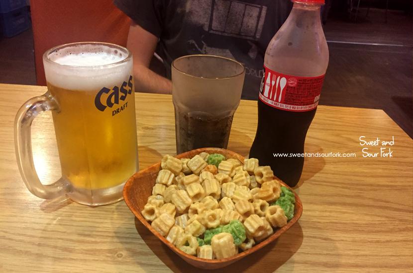 Cass Beer/Beer Snacks