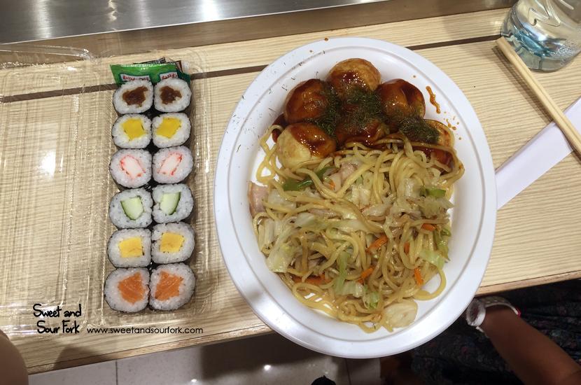 Sushi/Takoyaki/Yakisoba